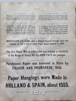 Spécimens De Types D'impression Réalisés À La Fonderie À New-york De Bruce (1882)