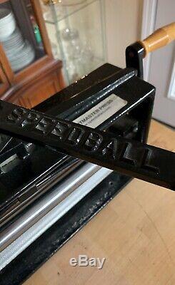 Speedball Printmaster Impression Rouleau De Presse Knurled Excellentissime. Cond