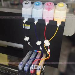 Système D'alimentation Continue D'encre D'unité D'ass De Cartouche De Réservoir De L'imprimante 1.5l 4 De Solvant