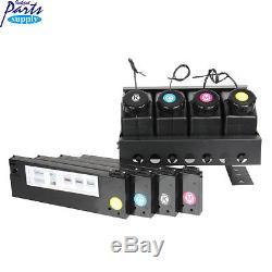 Système D'encre En Vrac Uv Ciss (4x4) Pour Imprimante À Plat Roland Lef / Mimaki / Mutoh Uv