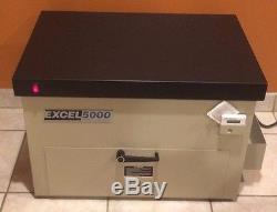 Système De Polymérisation Polymère Excel 5000, Ultra Violet, 120 Volts