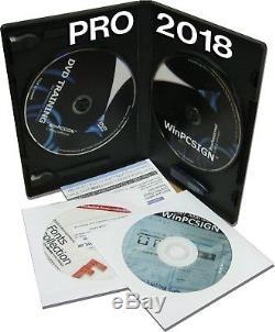 Traceur De Coupe Vinyle Saga Winccsign Pro 2018 600 Pilotes Saga, Gcc Roland