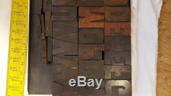 Type De Bois Typographique Antique Trie 15 Lignes (3) Q89