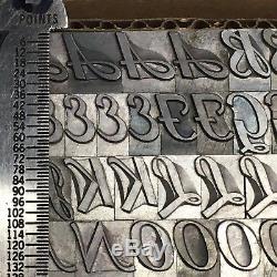 Type De L'imprimante 36 Caractères Typographiques De Typographie D'imprimante