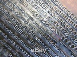 Type De Letterpress Plomb 18 Pt. Invitation Atf 457 # A58