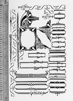 Type De Typographie Vintage Supports Et Folderol