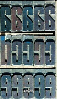 Typographie Bois