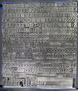 Typographie Vintage Métal Type D'impression Bb & S 30pt Parsons Ml12 11 #