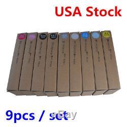 USA Stock! 9pcs / Set Cartouche De Recharge D'encre Epson Stylus Pro 3880