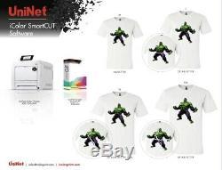 Uninet Icolor Smartcut Logiciel Dongle T-shirts Et L'impression Numérique Écran