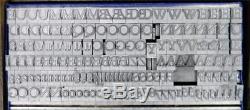 Vintage Typographie En Métal, Type 24pt Baskerville Ml04 7 #