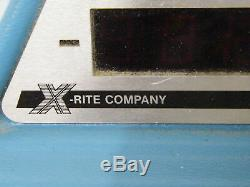 Vintage X-rite Company Modèle 301 135v Densitomètre