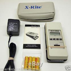 X-rite 341 Fonctionne À Pile B / W Transmission Densitomètre Etat Excellent