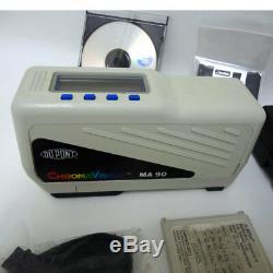 X-rite Ma90 Dupont Spectrophotomètre Multiangle Chromavision Adaptation De Peinture Automatique