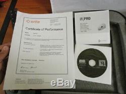 X-rite Pro I1 Spectrophotomètre Dans Une Mallette Avec CD & Guide