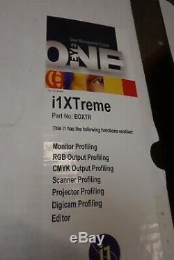 X-rite Xtreme I1 Pro I1xtreme Eoxtr I1 Profiler Nouveau / Jamais Utilisé