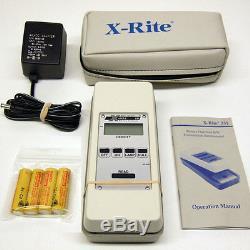Xrite 331 Transmission Densitomètre À Piles B / W Xrite 331 Excellente
