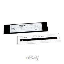 Yushi Standard Pour L'étape Densité Tablet Numérique Noir Et Blanc Densitomètre 0-4.0d