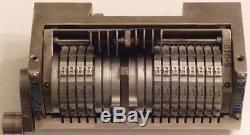(c) - Machine De Nombre De Décalage De Leibinger Micr / E-13b, Configuration De 4x8 Chiffres 23.74 C